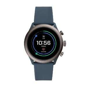 $99 三色可选Fossil 电子智能运动手表