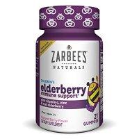 Zarbee's 小蜜蜂接骨木果强身软糖,天然浆果味