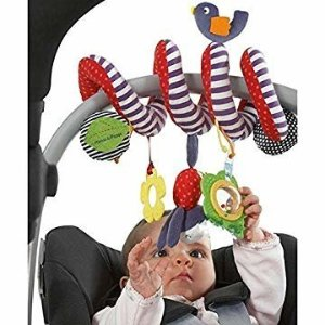 Amazon.com : Infantino Spiral Activity Toy, Blue : Baby