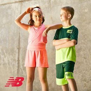 低至4折最后一天:Champion、Reebok、NB 儿童运动服饰特卖