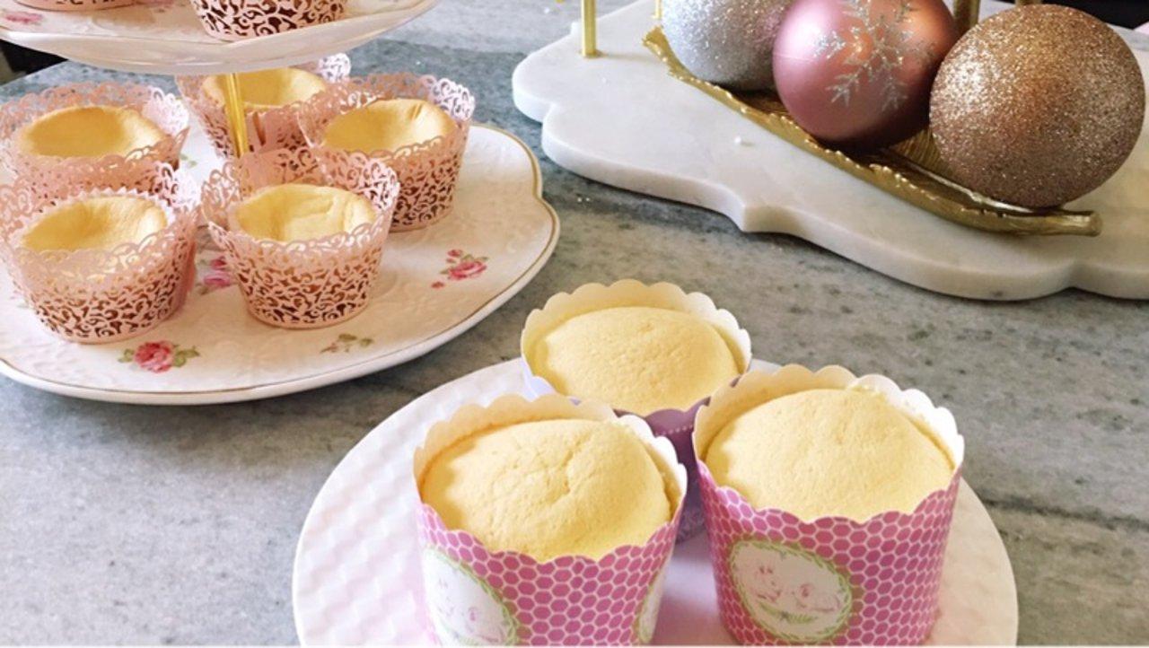 健康又美味   胡萝卜纸杯蛋糕和菠菜瑞士卷
