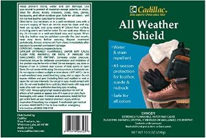 Amazon.com: Cadillac All Weather Shield - Leather and Fabric Protector Spray 10.5 oz: Gateway