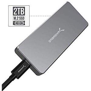 $333.37Sabrent Rocket Pro 2TB NVMe USB 3.1 SSD