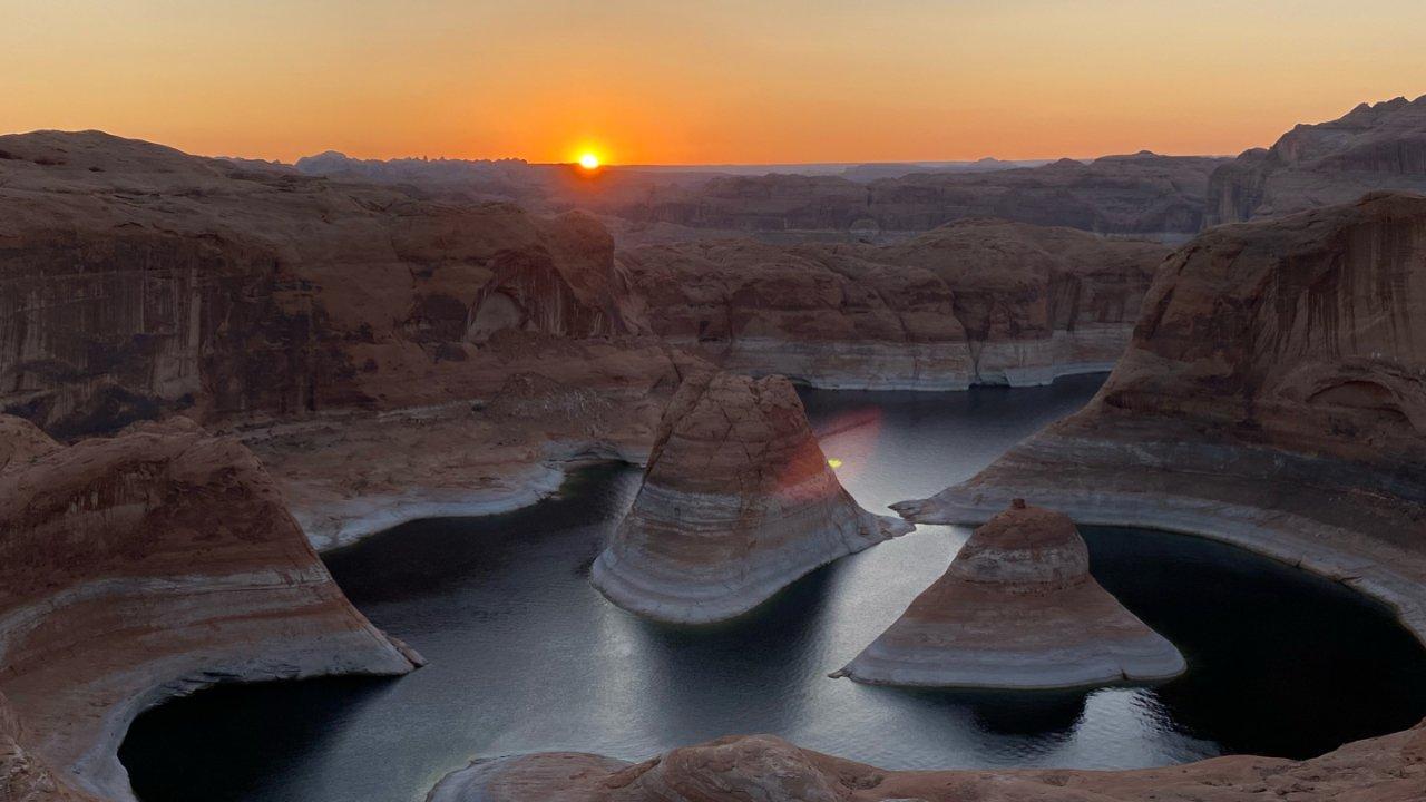 沙漠徒步——隐秘景点Reflection Canyon(附Kanab全攻略)