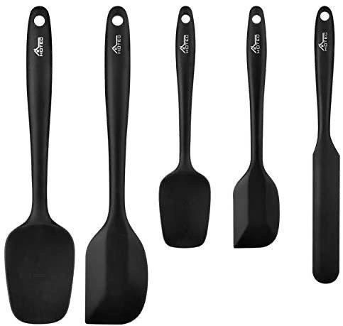 Hotec 硅胶烘焙烹饪铲勺工具5件套
