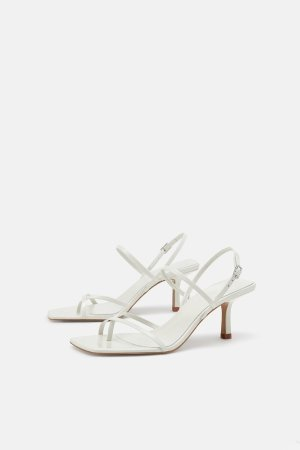 STRAPPY MID-HEEL LEATHER SANDALS-Shoes   Bags-TIMELESS-WOMAN-CORNER SHOPS   ZARA United States
