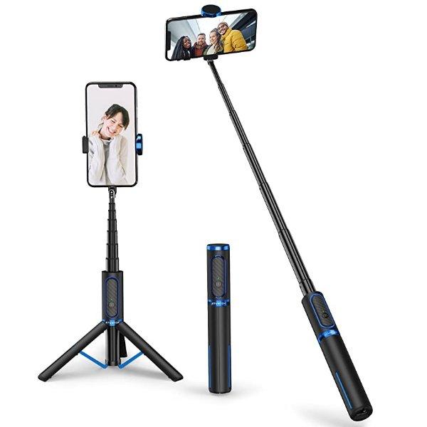 Yoozon 自拍杆+蓝牙操控+手机、相机三脚架