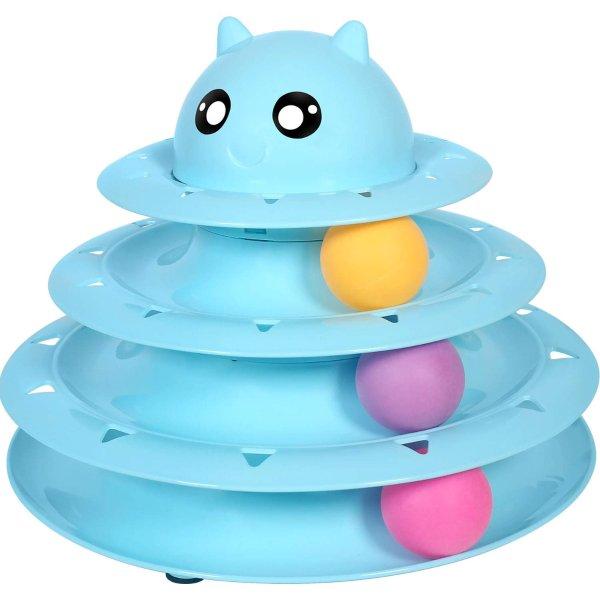 UPSKY 猫咪球塔玩具 益智又健身的猫咪玩具