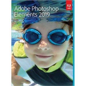 $59.99 (原价$99.99)Adobe Photoshop Elements 2019 Mac + Windows 实体版