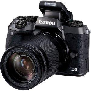 $569, 15-45mm套装仅 $449Canon EOS M5 + 18-150mm 无反相机套装