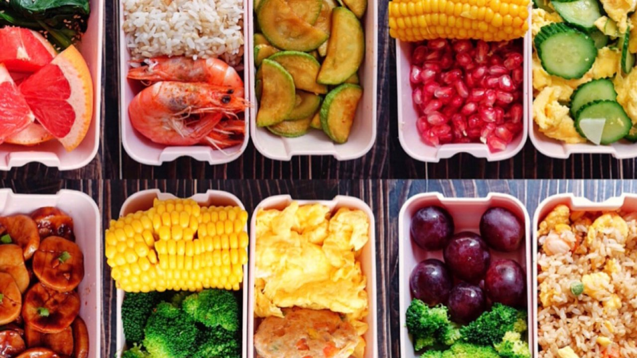 上班族的一周减脂餐搭配㊙️营养均衡好吃不胖