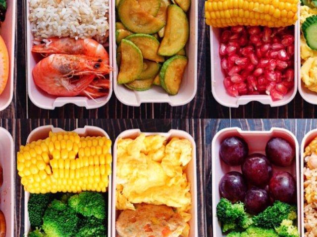 上班族的一周减脂餐搭配㊙️营养均衡...