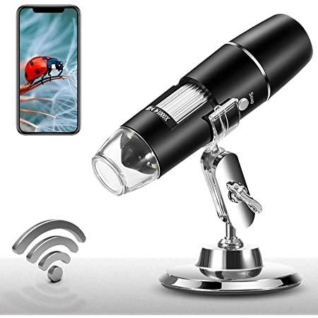 PalliPartners 1X-1000X 1080P 无线数字显微镜