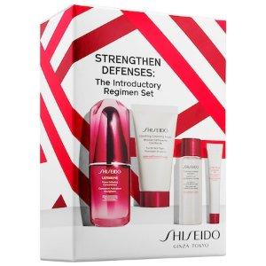 Strengthen Defenses: The Introductory Regimen Set - Shiseido   Sephora