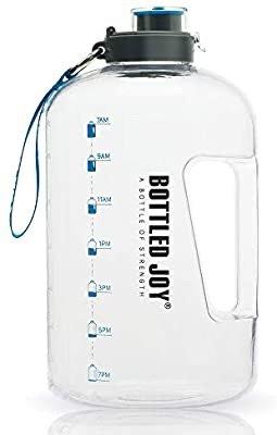 BOTTLED JOY 1加仑超大防漏水壶 喝水也要吨吨吨
