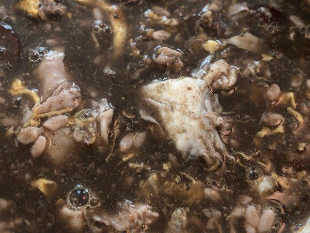 黑芝麻酒酿红枣鸡蛋汤