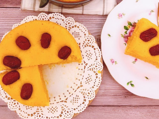 蛋糕口感的《南瓜发糕》,成功率高又简单!