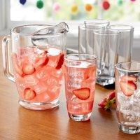 Mainstays 透明玻璃饮具7件套