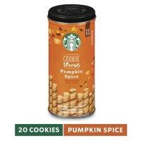 Starbucks 秋季款饼干卷 南瓜口味 20只装