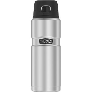 Thermos 24oz Stainless King Water Bottle - Stainless Steel