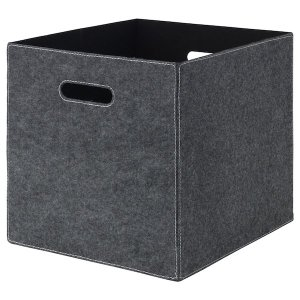 BLÄDDRA Box - gray - IKEA