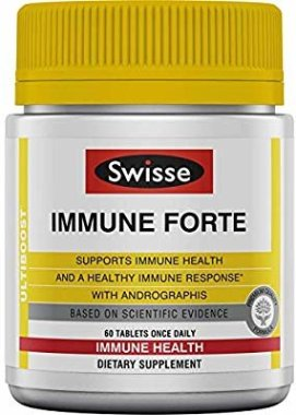 Amazon.com: Swisse Ultiboost Immune Forte | Andrographis, Vitamin C, Elderberry & Echinacea for Healthy Immune Response | 60 Tablets: Gateway