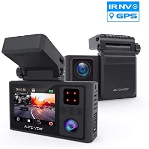 AUTO-VOX FHD Dual Dash Cam Front and Inside