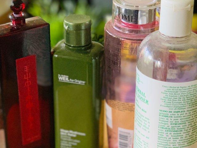 空瓶记-四款干皮必备的爽肤水