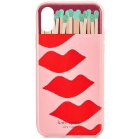 kate spade new york Matches And Lips iPhone XS 手机壳