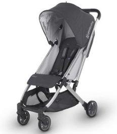 UPPAbaby Minu Stroller - Jordan (Charcoal Melange/Silver/Black Leather)