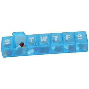 Ezy Dose Travel (7-day) Pill-Medicine-Vitamin Organizer Box