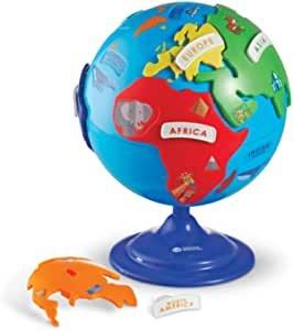 3D地球仪地理拼图