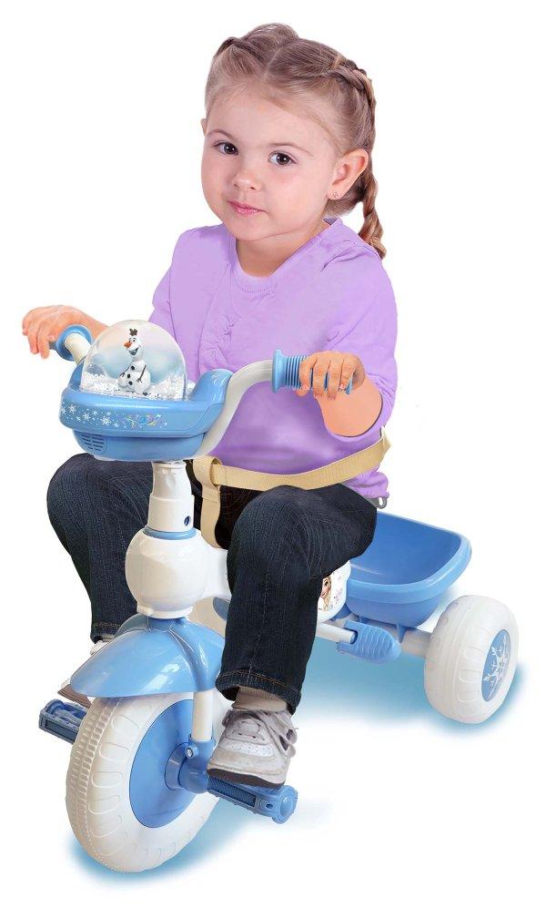 冰雪奇缘儿童豪华成长型三轮车