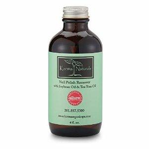Amazon.com : Karma Organic beauty natural Soybean Lavender Nail Polish Remover Nontoxic vegan cruelty free (4 fluid ounce) : Beauty Products : Beauty