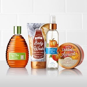 Buy 3 Get 2 Free + $10 Off $30Signature Body Care @ Bath & Body Works