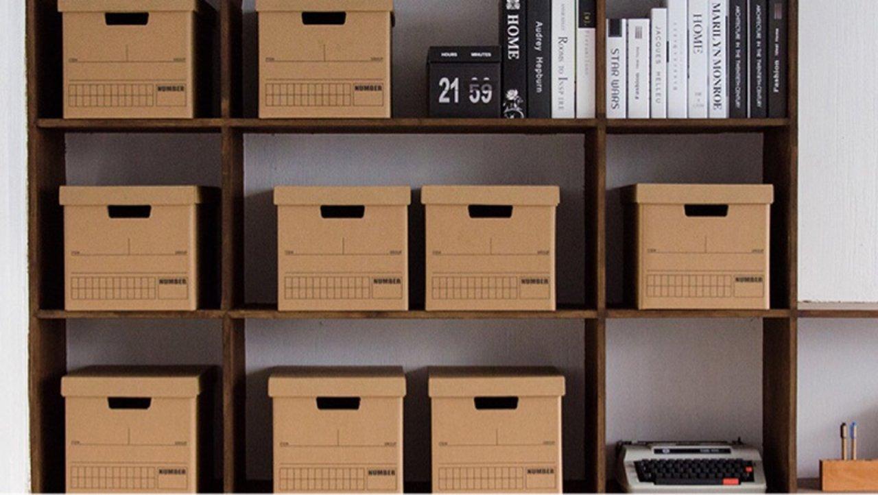 双十一黑五快递盒怎么用?废弃纸箱成为收纳好帮手