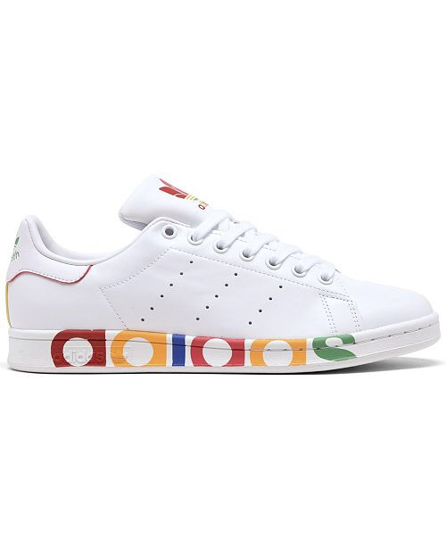 adidas Men's Stan Smith Casual Sneakers from Finish Line & Reviews - Finish Line Athletic Shoes - Men - Macy's 运动鞋热卖