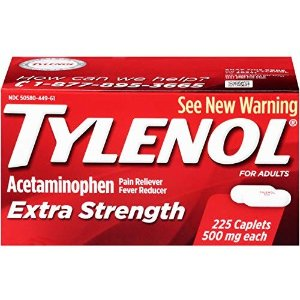 Amazon.com: Tylenol Rapid Release Gels, Fever Reducer and Pain Reliever, 500 mg, 100 ct.: Health & Personal Care
