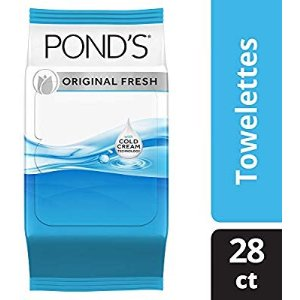 Pond's Moisture Clean Original Fresh Towelette Pack of 4