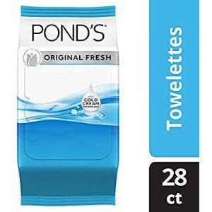 $13.49 (原价$17.99)Amazon Pond's旁氏 缷妆湿巾4件装热卖