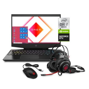 $949 雷电3, 送配件HP Omen 15 游戏本 (i7 10750H, 1660Ti, 8GB, 256GB+1TB)