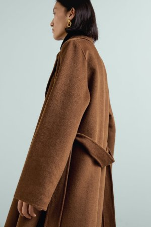 BELTED COAT-Collection-TIMELESS-WOMAN-CORNERSHOPS | ZARA United States