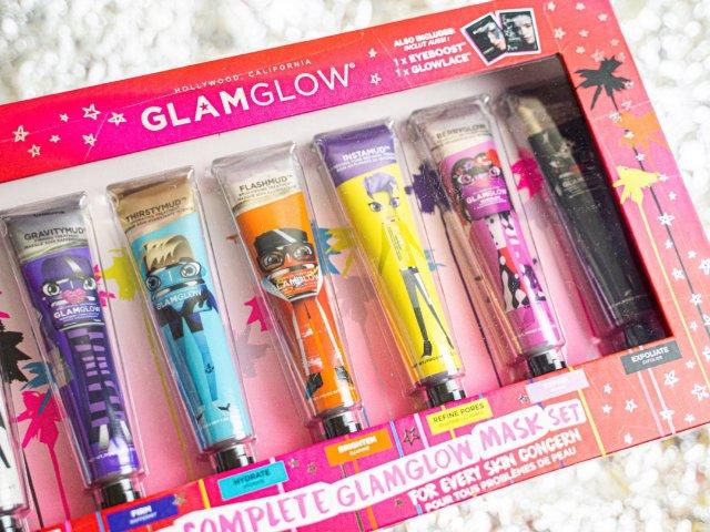 让你GLAM让你GLOW的面膜套装...