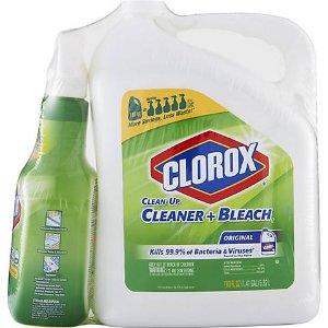 $14.99Clorox 漂白消毒液 带喷壶 可杀死99.9%的家庭细菌