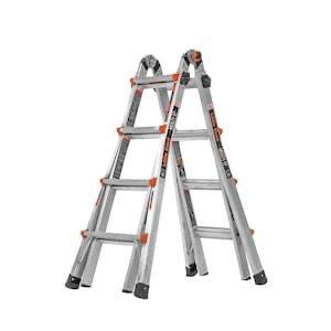 Little Giant 可折叠延伸梯子 18-ft 可承重300磅