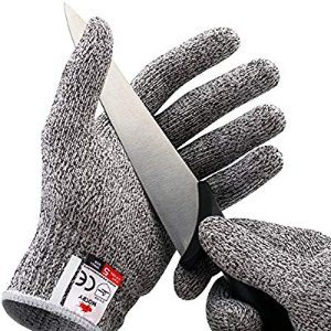 Amazon.com: NoCry Cut Resistant Gloves - High Performance Level 5 Protection, Food Grade. Size Medium, Free Ebook Included!: Gateway