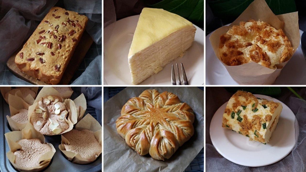 新鲜出炉的蛋糕,大家一起来品尝吧☺