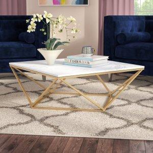 Everly Quinn Boris Coffee Table & Reviews | Wayfair