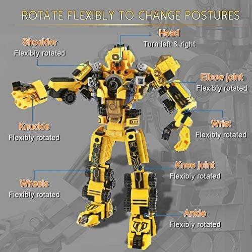 LUKAT 变形机器人STEM积木,25种搭法