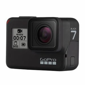 GoPro HERO7 Black 4K Waterproof Action Camera